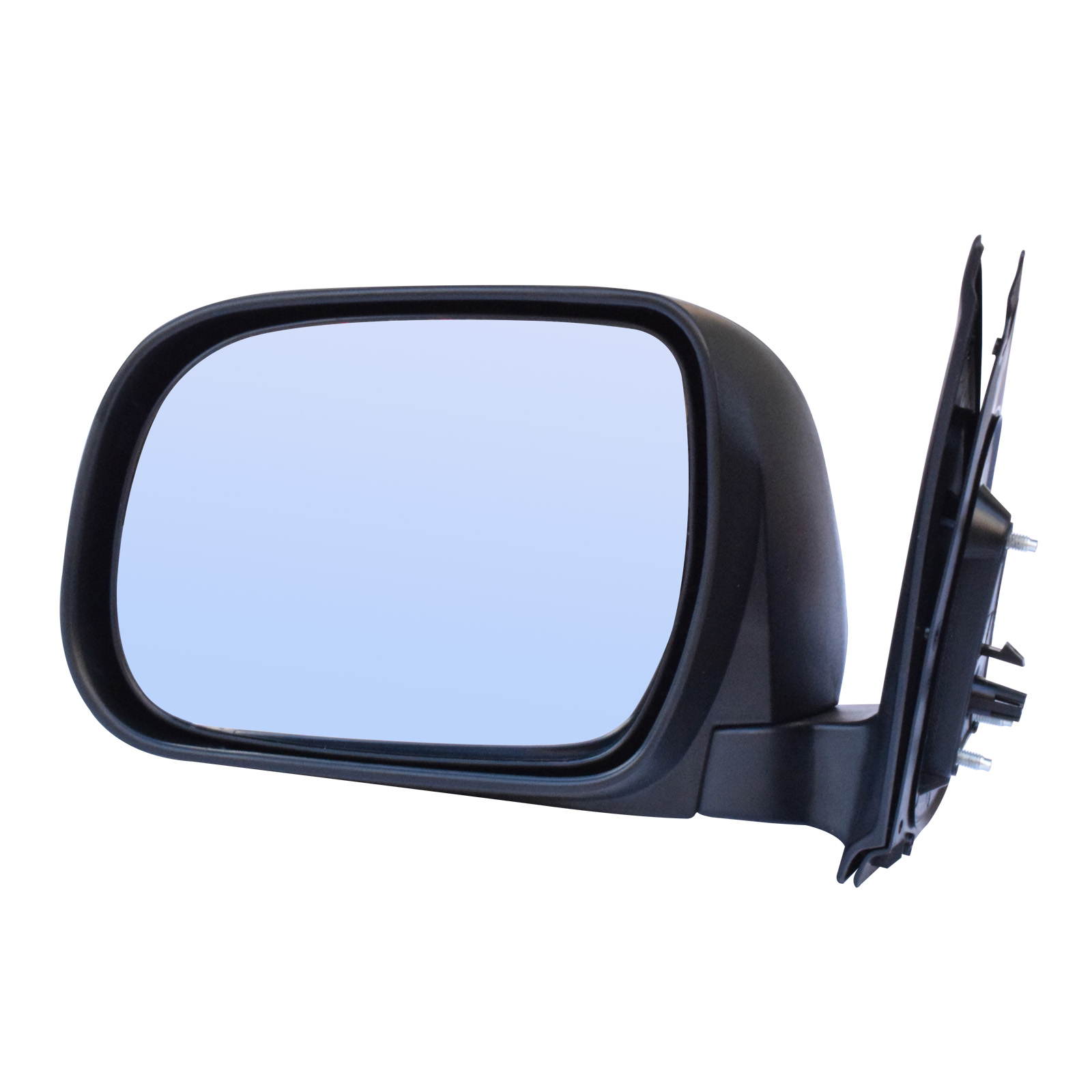 Fit For Toyota Hilux '05-'13 Ute BLACK Manual Side Door Mirror LEFT image