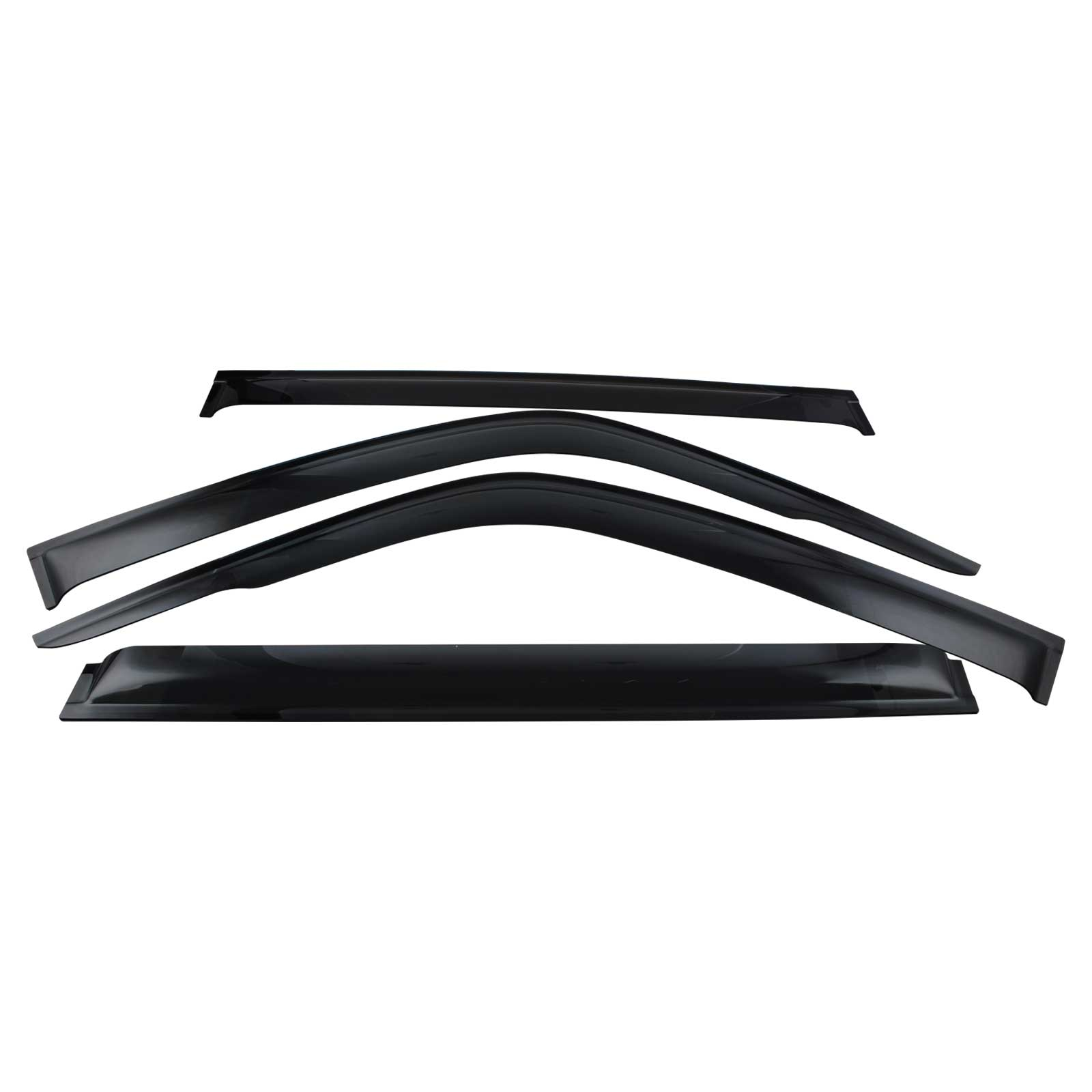 Premium Weathershield Weather Shield Window Visor Fit For Patrol GU Y61 97-18 4pcs image