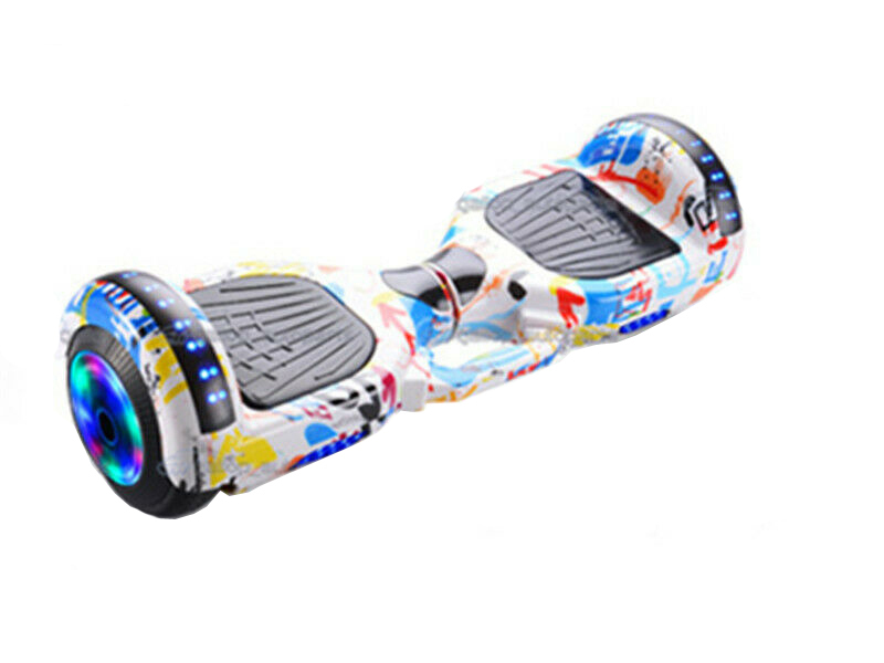 60cm Hoverboard Scooter Self Balancing Electric Hover Board Skateboard Graffito image