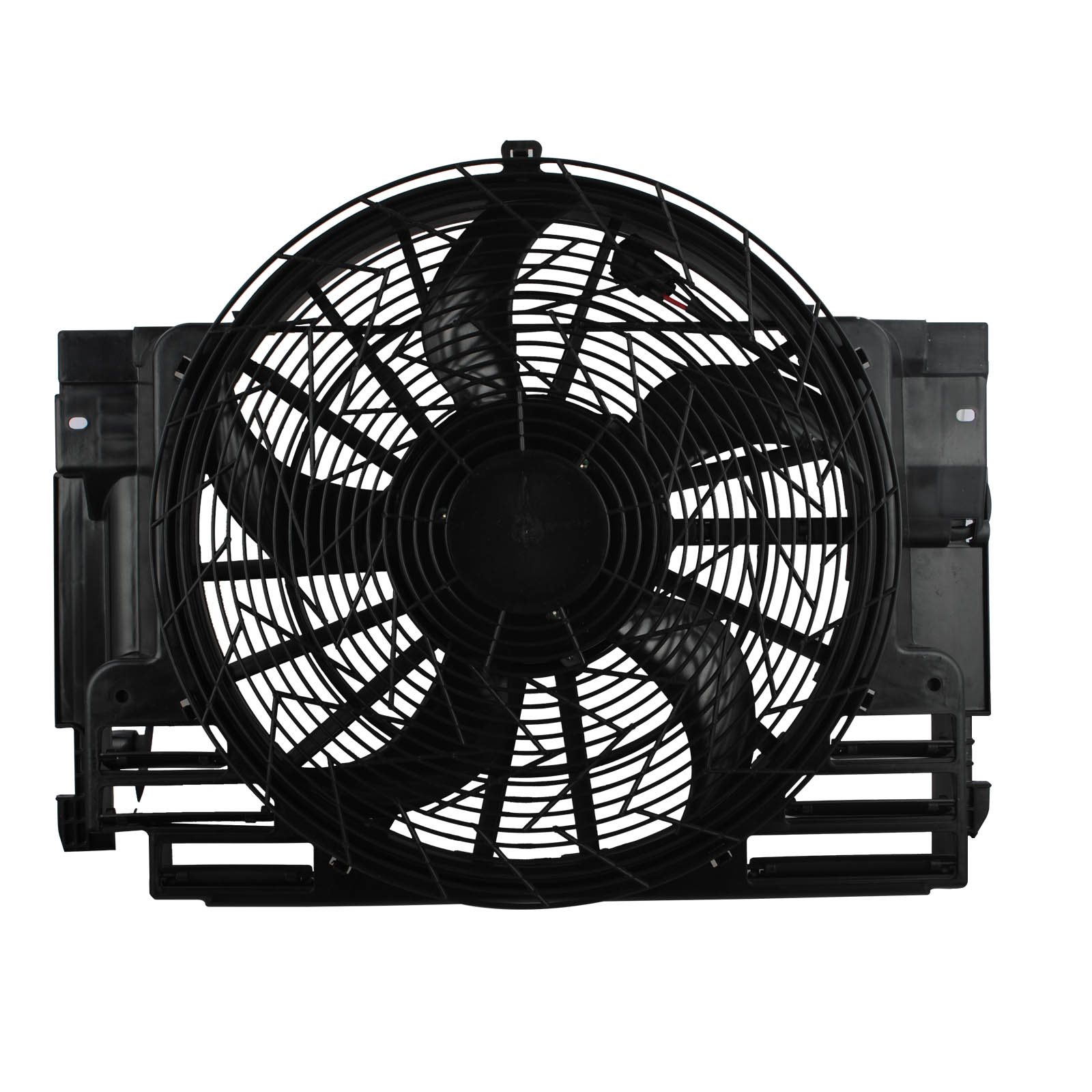 Condenser Thermo Fan Motor Assembly Fit For BMW E53 X5 2000-2006 Petrol image