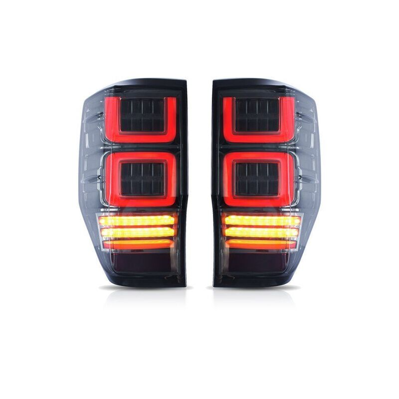 Tail Light Led Set Smoked Fit For Ford Ranger PX T6 MK2 XL XLT 2012-On image