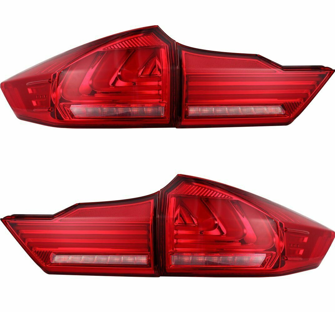 LED Rear Lamp Suit For Honda City 2014-2017 Tail Light Set image