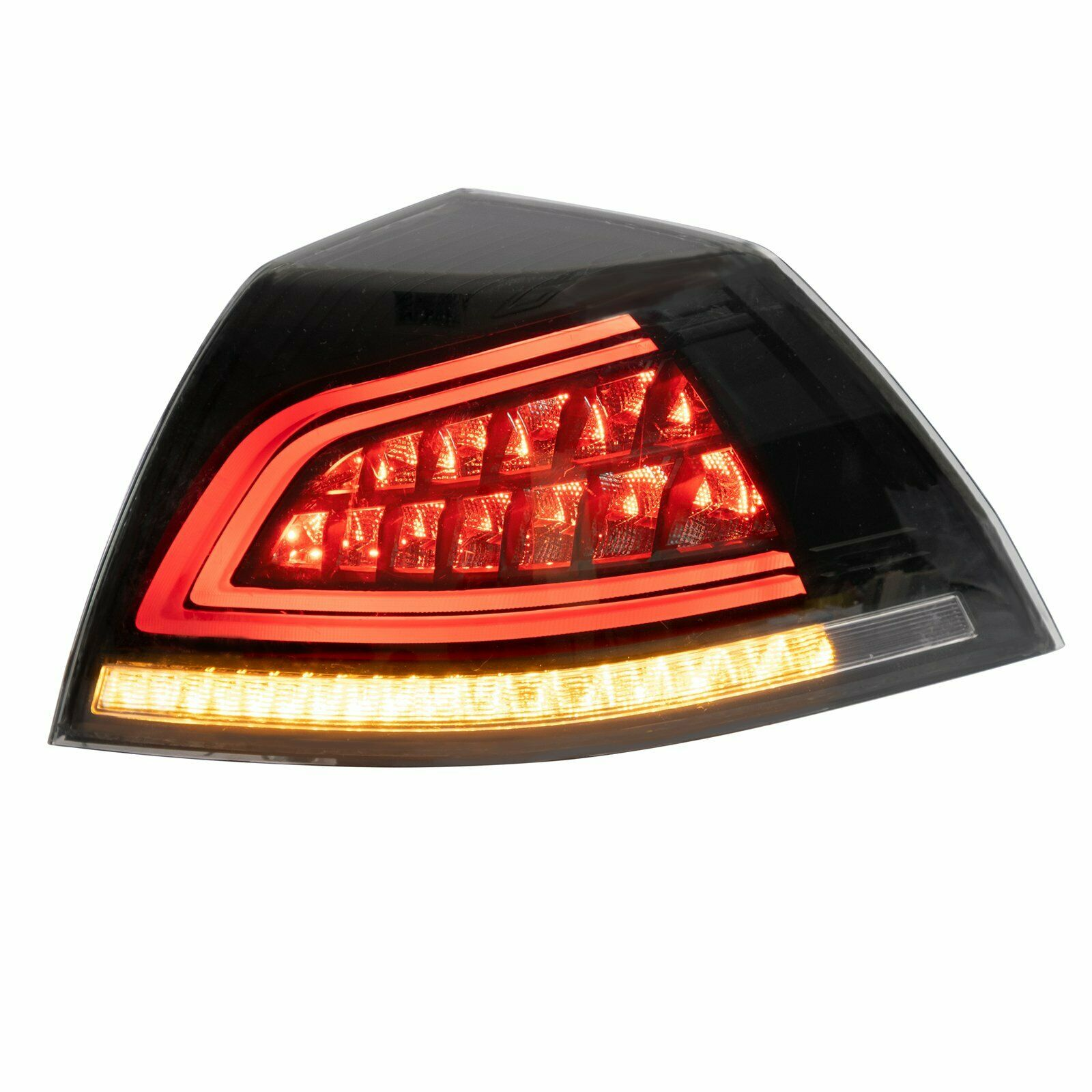 Fit For Holden VE Commodore Series 1 Series 2 Sedan Smoke LED Tail Lights Sequential Blinker image