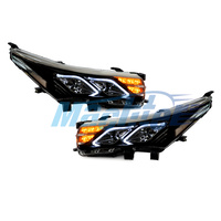 Headlight  LED Fit For Toyota Corolla ZRE172 2014~2017 Hi/Lo Beam