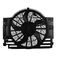 Condenser Thermo Fan Motor Assembly Fit For BMW E53 X5 2000-2006 Petrol